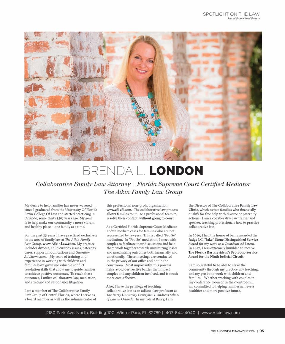 Brenda London, Orlando Style Magazine